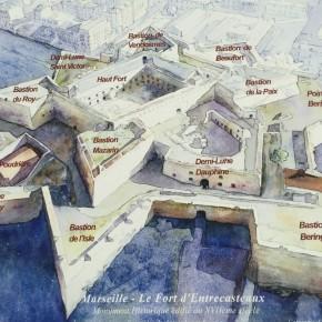 Journées du patrimoine: Fort d'Entrecasteaux, Marseille