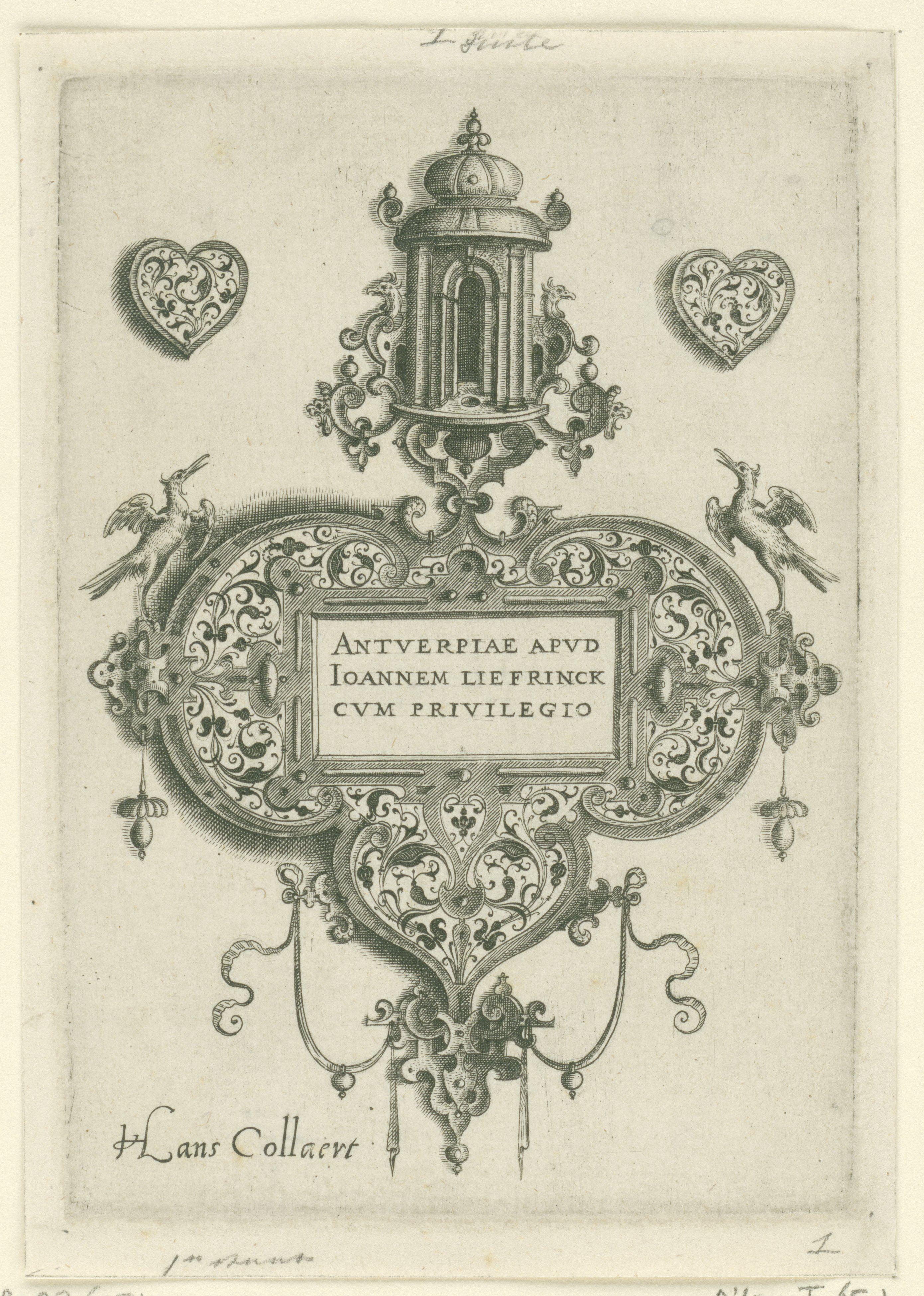 Hans Collaert I, Hans friedrick collaert II, avant 1573