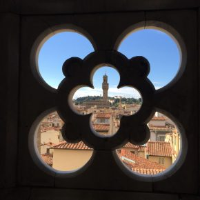 Siena, Montepulciano and Firenze postcard