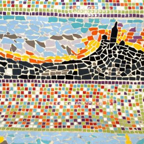Mosaics by the sea in Marseille