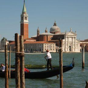 Verona, Trento, Venice, Rome postcard