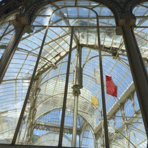 Rosa Barba. Registro de transito solar. Museo Reina Sofia. Parque del retiro, Palacio de Cristal