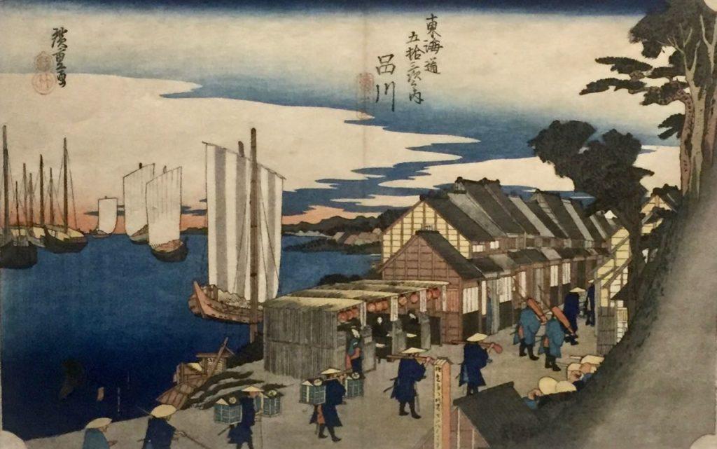 Sur la route du Tokaido, Musee Guimet