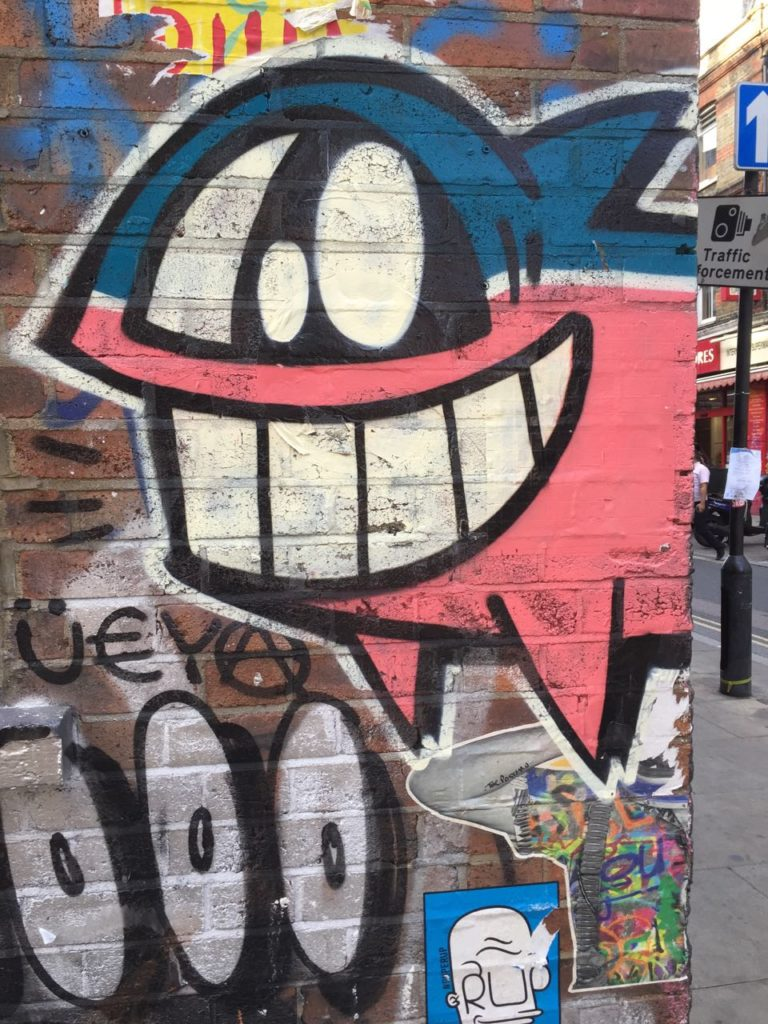 Street art, brick lane, london