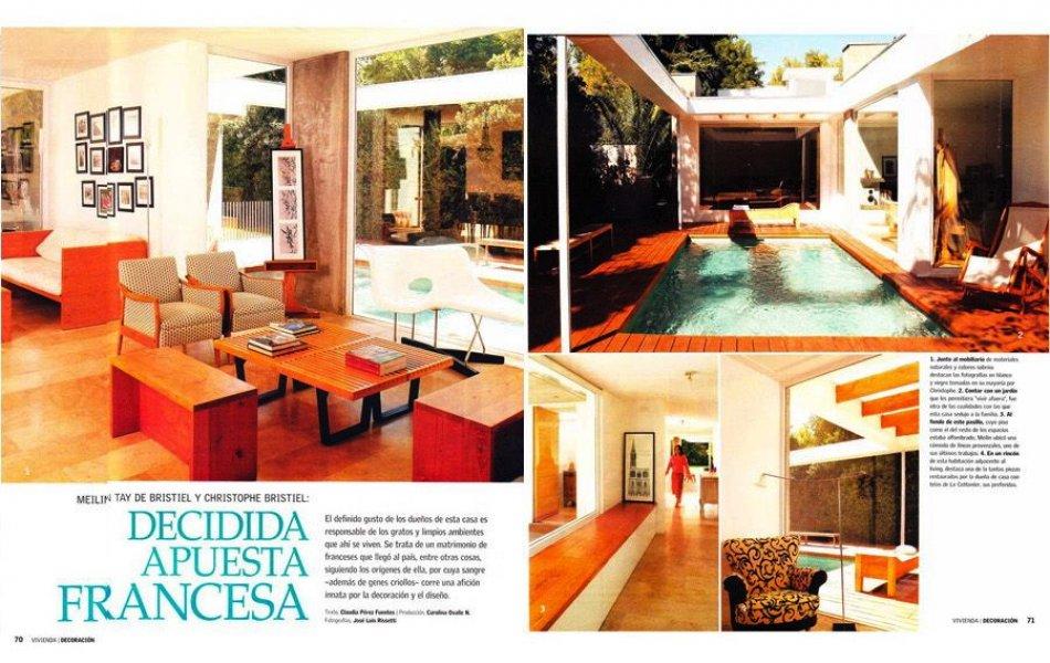 V/D n 613, April 2008: Renovation of a modernista house, Casa Sanfuentes, Santiago, Chile