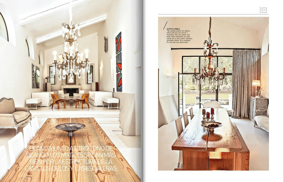 Mas Deco, July 25 2014, Full diseño, p 64-73, Renovation of a mas in Provence